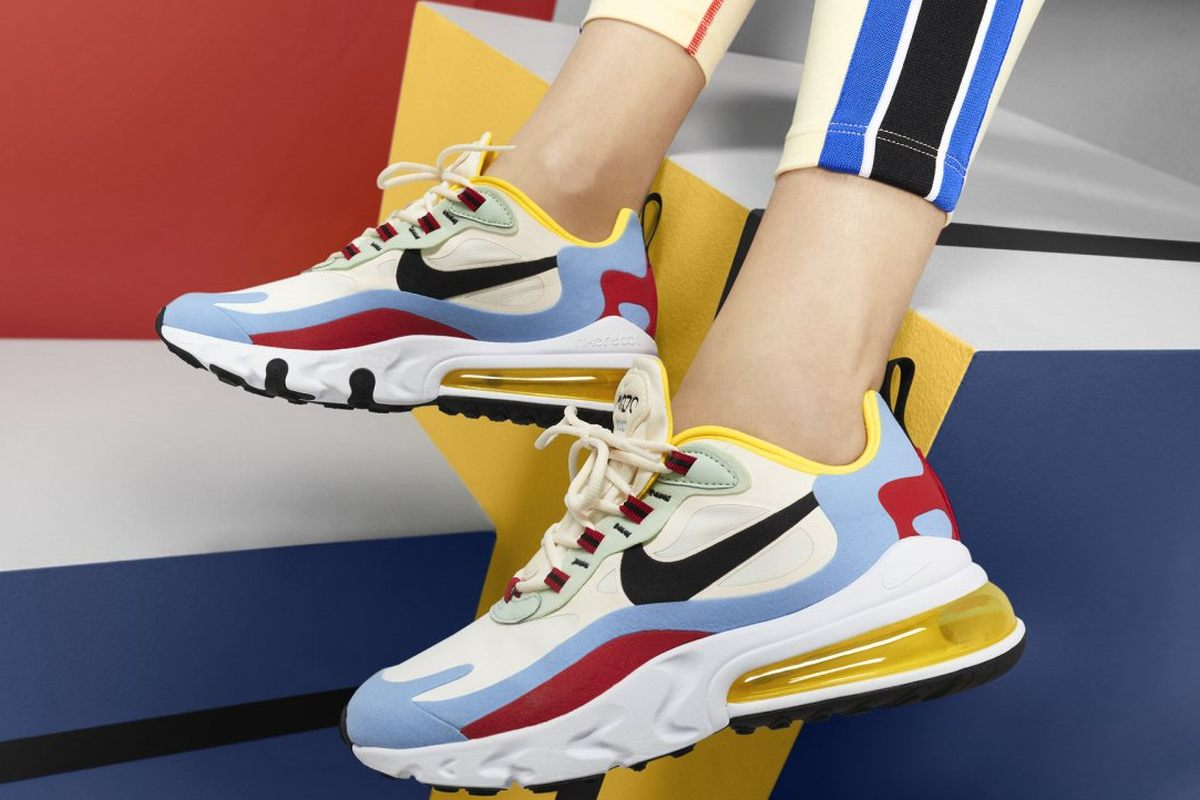 Nike Air Max 270 React Wit Dames At6174 002 13 Kopie