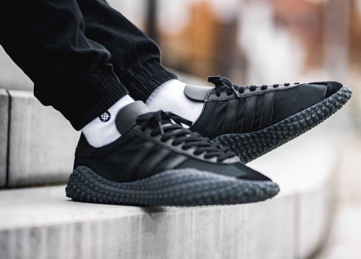 Adidas Country X Kamanda Never Made Triple Black Ee3642 Mood 2
