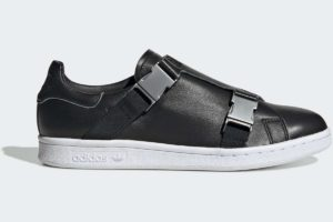 adidas-stan smith buckle-damen-schwarz-EE4888-schwarze-sneakers-damen