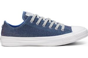 converse-chucks all star ox-damen-blau-564916c-blaue-sneaker-damen