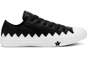 converse-chucks all star ox-damen-schwarz-565369c-schwarze-sneaker-damen