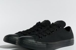 converse chucks all star ox schwarz schwarze sneakers damen