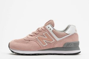 new balance 574 rosa rosa sneakers damen