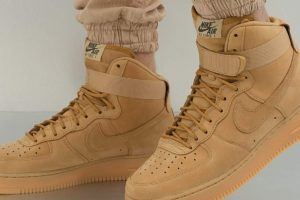 nike air force 1 beige beige sneakers herren