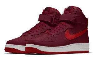 Nike Air Force 1 Damen Burgundy Aq3777 992 Burgundy Sneaker Damen