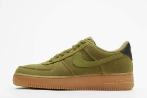 nike air force 1 grün grüne sneakers herren