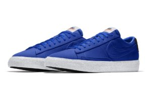 Nike By You Blazer Heren Blauw Cw4643 991 Blauwe Sneakers Heren Nikeid