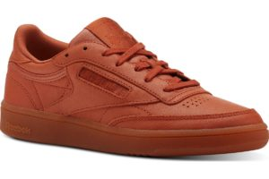reebok club c 85 damen orange orange sneakers damen