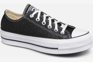 converse-chucks all star ox-damen-schwarz-566282c-schwarze-sneakers-damen