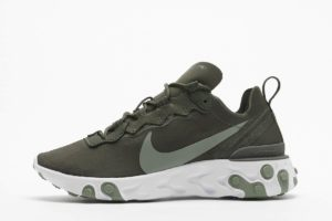 nike react element grün grüne sneakers damen