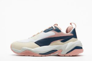 puma thunder blau blaue sneakers damen
