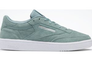 reebok club c 85s damen blau blaue sneakers damen